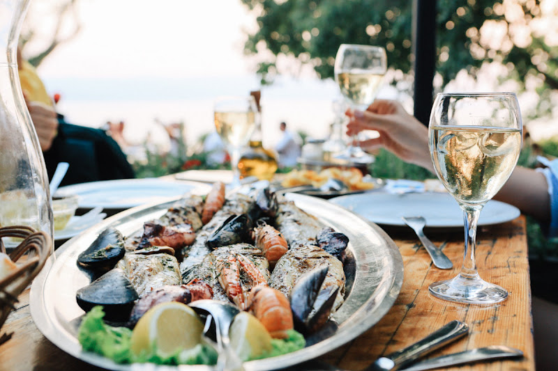 морепродукты в Хорватии