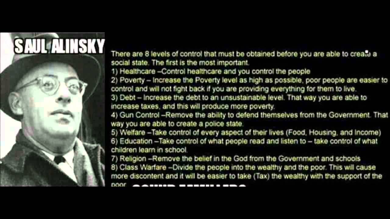 Conservative Blogs Central: Saul Alinsky, 'Rules For