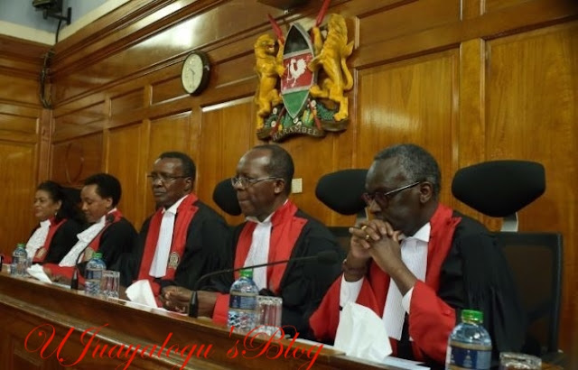 Kenya's Supreme Court Blasts Electoral Commission for Goofing in the Presidential Election