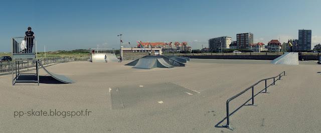 Skatepark Le Touquet Panoramique