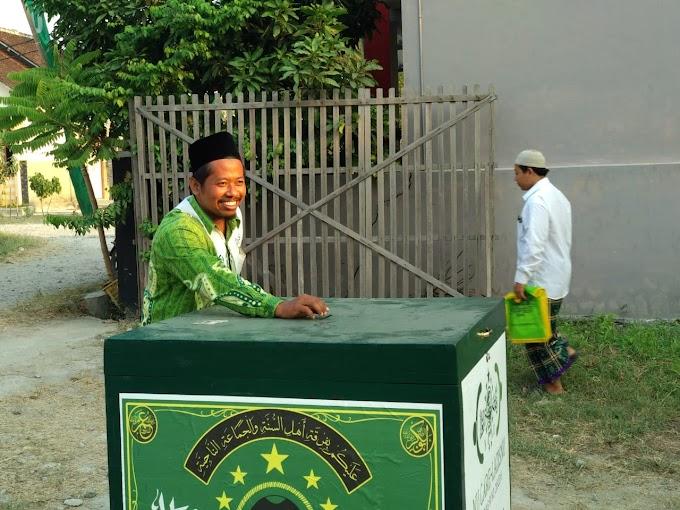 Kotak Koin NU Ramaikan Jalannya Konfercab PCNU Rembang