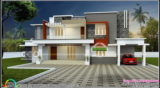 2900 sq-ft 4 bedroom house architecture