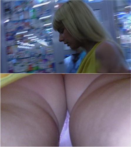 Upskirts N 1827-1835 (Subway walking girls hidden camera upskirt panties)