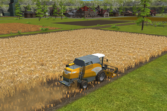 screenshot Farming simulator 16 terbaru
