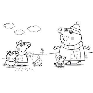 Birrascom Dibujos De Peppa Pig Para Colorear Y Pintar
