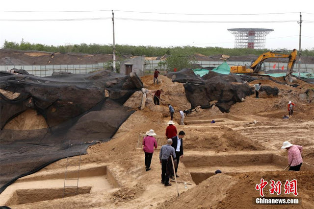 Tomb complex of Eastern Zhou Dynasty discovered in Henan