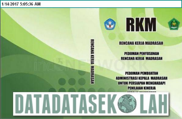 Download Contoh Rencana Kerja Madrasah Ibtidaiyah New