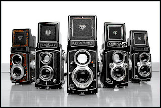Penampakan kamera TLR