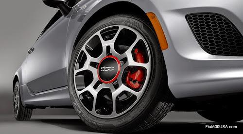 Fiat 500 tires size