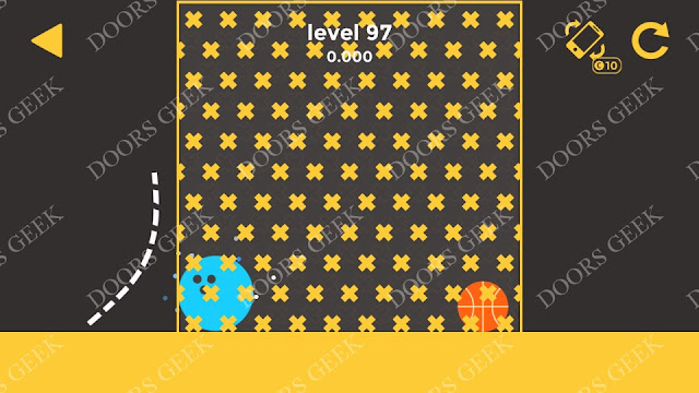 Ball & Ball Level 97 Solution, Walkthrough, Cheats for android and ios
