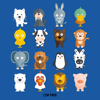 Funny animals collection Free Vector cute animal vector free download  zoo animals vector free  free commercial vector animals  flat animal vector  cartoon animals vector  animal sketch vector  animal icons vector  freepik animals vector