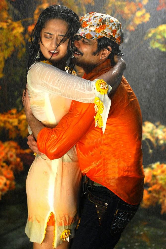 Anushka Shetty Hot Romance With Raviteja At Baladoor Movie -9017