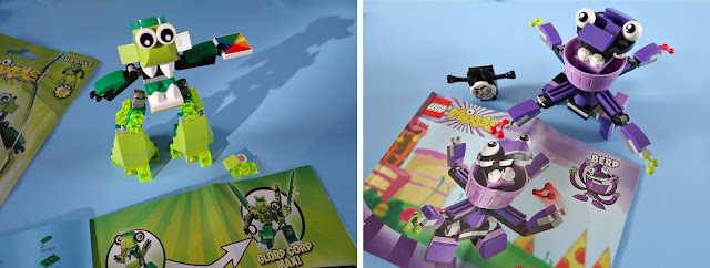 LEGO Mixels, Collectibles, Transforming toys