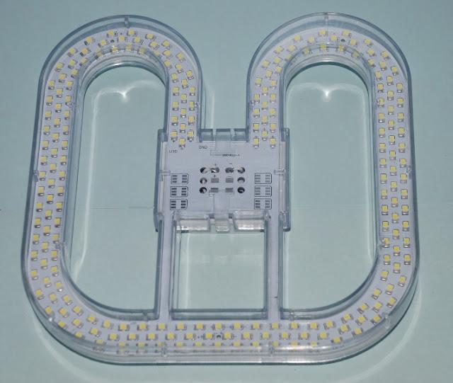 2D LED Emergency 15W 4 pin