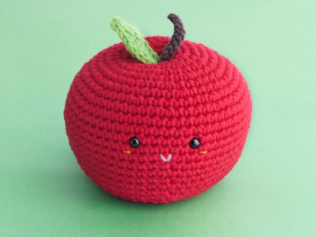 amigurumi-manzana-apple-patron-gratis-free-pattern