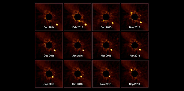 stunning exoplanet time lapse
