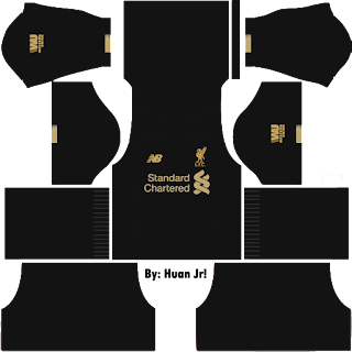 Jersey Dream League Soccer Liverpool GK 2020