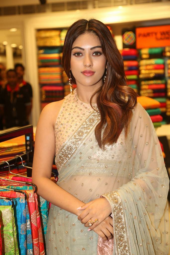 Anu Emmanuel At KLM Fashion Mall Launch Event In Ameerpet