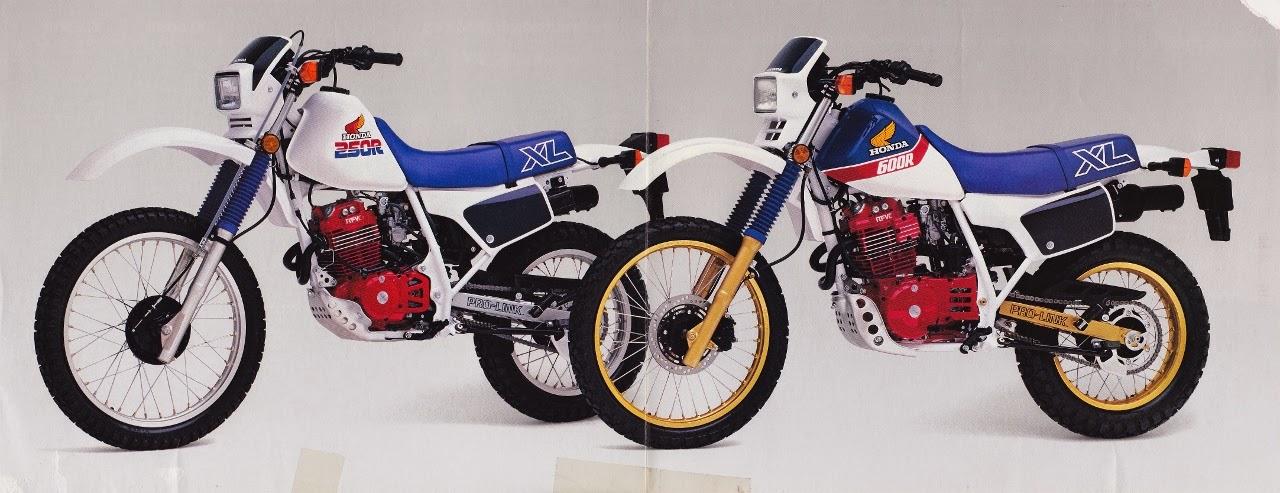 1986 XL600R XL250R 3 1280x493 129700 - HONDA XLX250R