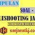 Soal UAS Troubleshooting Jaringan 12 TKJ - Kurikulum 2013