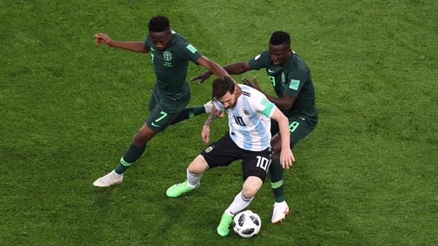 Nigeria vs Argentina - Piala Dunia 2018