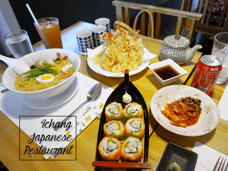 Renee's First Japanese Restaurant Experience at Ichang Japanese Restaurant in Iligan City