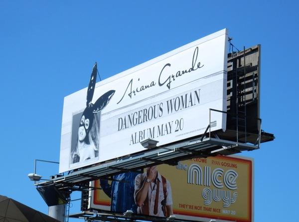 Ariana Grande Dangerous Woman album billboard