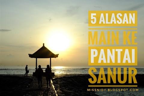 5 Alasan Main ke Pantai Sanur Bali