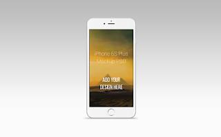 FREEBIE: iPhone 6S Plus Mock Up PSD