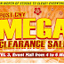 4-6 March 2016 Big Box Clerance Sale