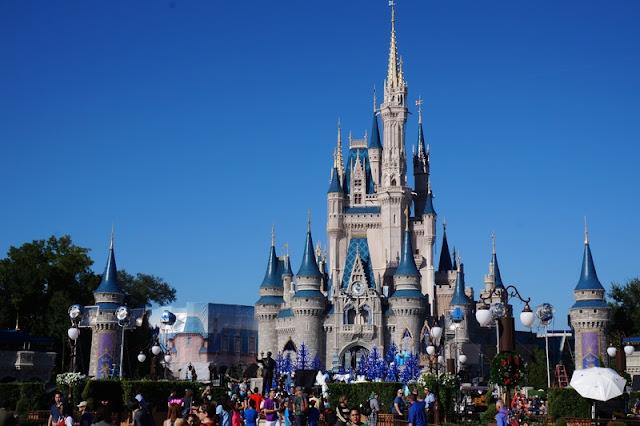 Magic Kingdom The Ciderella Castle