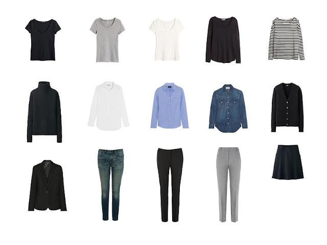 Универсальный базовый гардероб для женщины