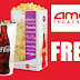 Free Popcorn and Drink at AMC Movie Theatres