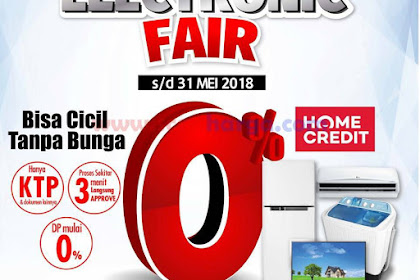 Lottemart Special Promo Electronic Fair Hingga 31 Mei 2018