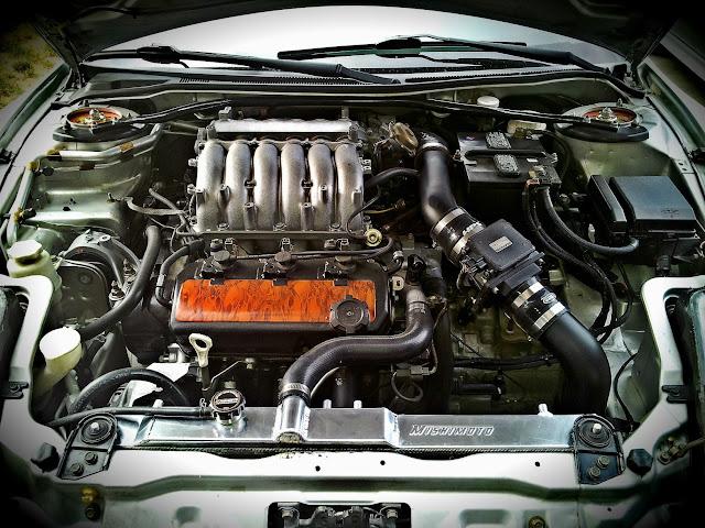 6G72, V6, Mitsubishi Eclipse 3G, D50, silnik