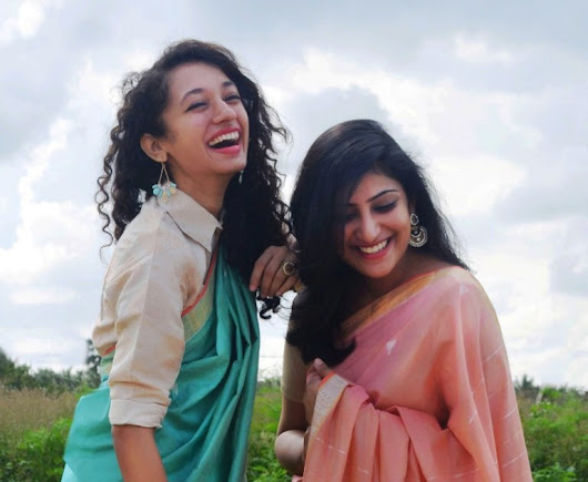 Ethicus travels to Delhi with organic cotton saris