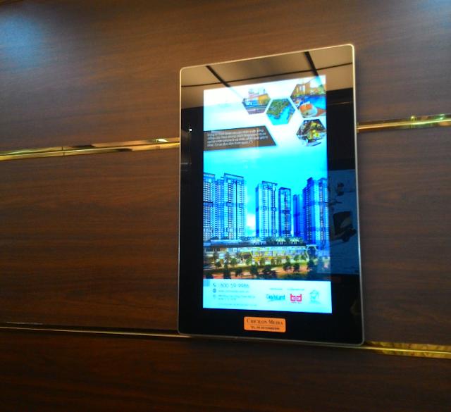 Địa chỉ bán màn hình quảng cáo trong thang máy Uy tín nhất - Màn ...
