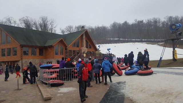 Liberty Mountain Resort Snow Tubing