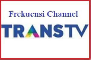 Frekuensi TRANS TV Terbaru 2020 Mpeg2 Dan Mpeg4 Di Satelit Telkom 4