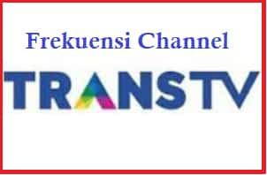 Frekuensi TRANS TV 2020