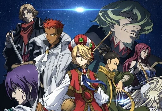 Shoukoku no Altair Anime Adaptation Has Revealed New Key Visual.