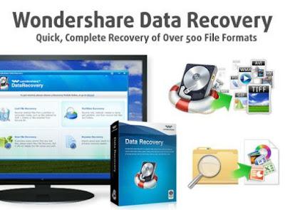 برنامج, استعادة, الملفات, المحذوفة, من, الاقراص, والفلاش, ميمورى, Wondershare ,Data ,Recovery