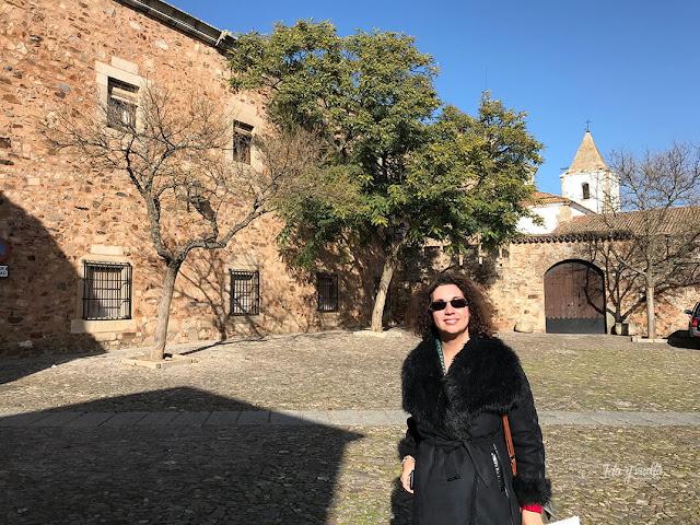 En la Plaza de San Pablo Cáceres