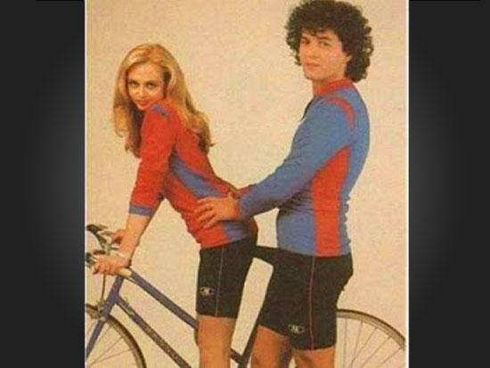 Parece mas não é - Bicicleta empolgante