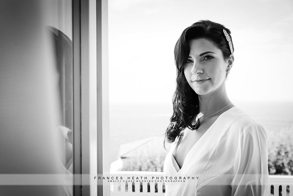 Bride at Hotel Mediterraneo