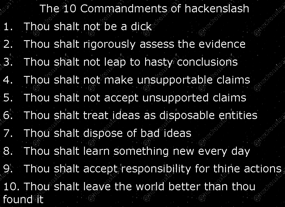 Hackenslash Morality And The False Dichotomy