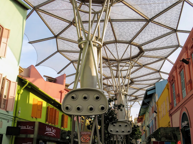 Clarke Quay canopy in Singapore