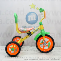 PMB 919S-P Safari BMX Tricycle with Back Seat Orange