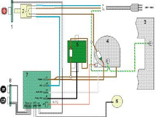 krups le cube nespresso ef 472 coffee machine pump. Black Bedroom Furniture Sets. Home Design Ideas