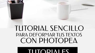 Tutorial Sencillo Para Deformar Tus Textos Con Photopea